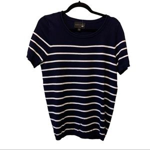NWOT Absolutely Creative Worldwide Striped Soft T